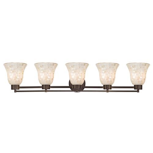 Design Classics Lighting Bronze Bathroom Light 706-220 GL9222-M