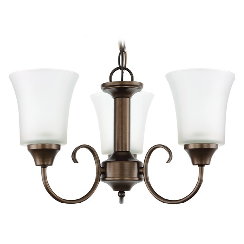 Sea Gull Lighting Sea Gull Lighting Holman Bell Metal Bronze Mini-Chandelier 39806BLE-827