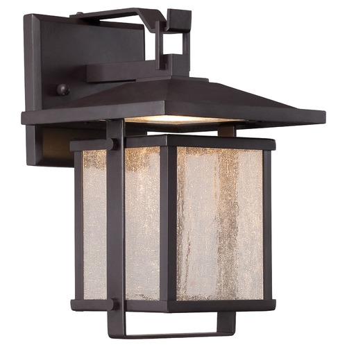 Minka Lavery Minka Lighting Hillsdale Dorian Bronze LED Outdoor Wall Light 8162-615B-L