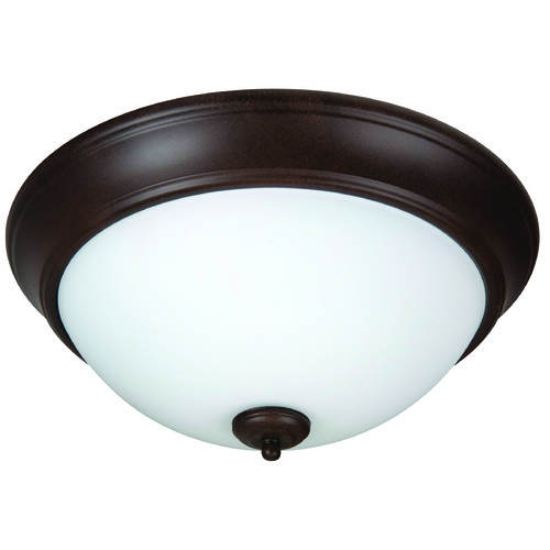 Jeremiah Lighting Jeremiah Pro Builder Flush Aged Bronze Flushmount Light XP13AG-2W