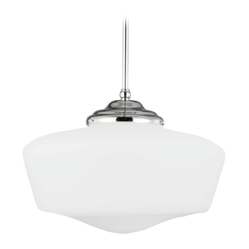 Sea Gull Lighting Sea Gull Lighting Academy Chrome LED Pendant Light 65439EN3-05