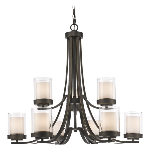 Z-Lite Z-Lite Willow Olde Bronze Chandelier 426-9-OB