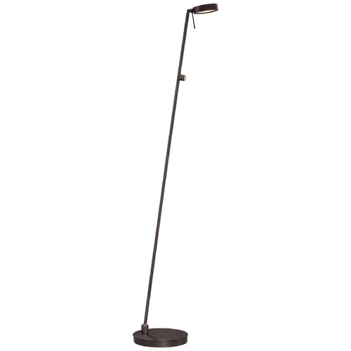 George Kovacs Lighting Modern LED Pharmacy Lamp in Copper Bronze Patina Finish P4304-647