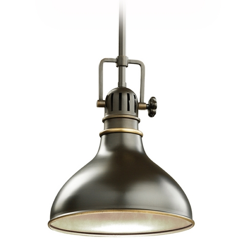 Kichler Lighting Kichler Nautical Mini-Pendant Light in Bronze Finish - 8-Inches Wide 2664OZ