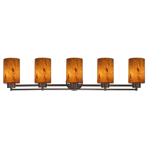 Design Classics Lighting Design Classics Salida Fuse Neuvelle Bronze Bathroom Light 706-220 GL1001C