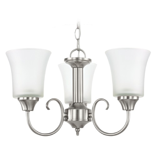 Sea Gull Lighting Sea Gull Lighting Holman Brushed Nickel Mini-Chandelier 39806BLE-962