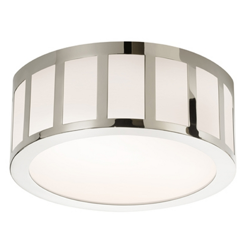 Sonneman Lighting Sonneman Lighting Capital Polished Nickel LED Flushmount Light 2525.35