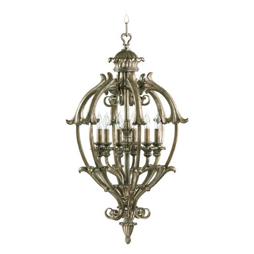 Quorum Lighting Quorum Lighting Barcelona Mystic Silver Pendant Light 6800-6-58