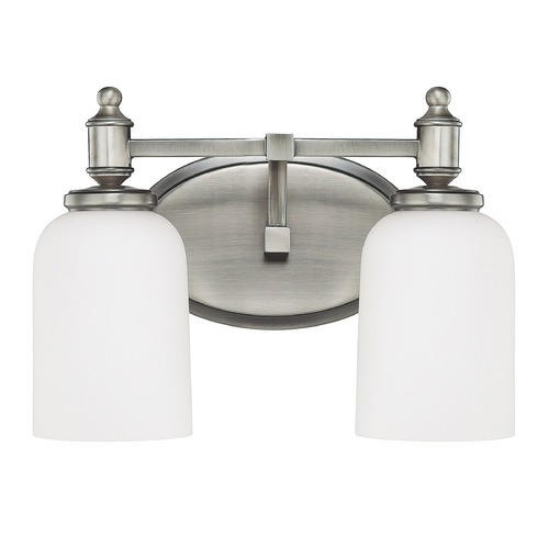 Capital Lighting Capital Lighting Covington Antique Nickel Bathroom Light 8442AN-102