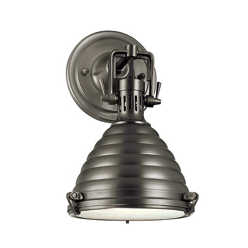 Hudson Valley Lighting Hudson Valley Lighting Naugatuck Antique Nickel Sconce 5108-AN