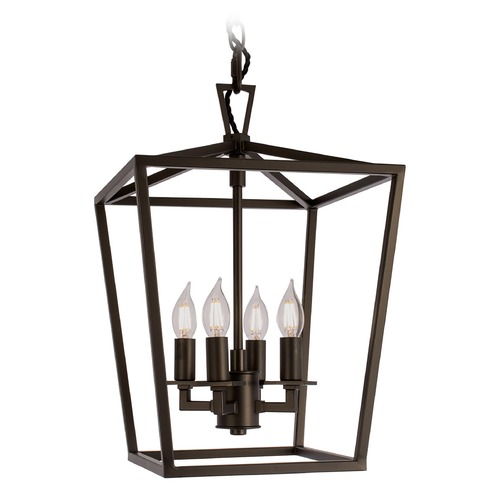 Norwell Lighting Norwell Lighting Cage Bronze Pendant Light 1080-BR-NG