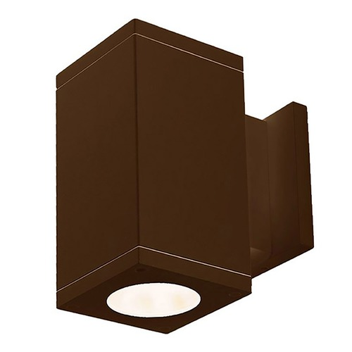 WAC Lighting Wac Lighting Cube Arch Bronze LED Outdoor Wall Light DC-WS06-F835B-BZ