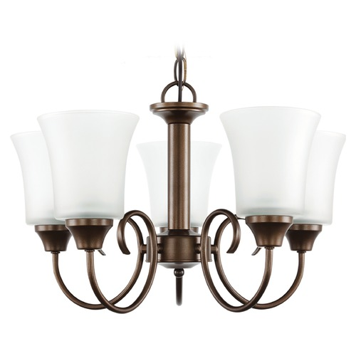 Sea Gull Lighting Sea Gull Lighting Holman Bell Metal Bronze Mini-Chandelier 39808BLE-827