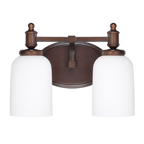 Capital Lighting Capital Lighting Covington Burnished Bronze Bathroom Light 8442BB-102