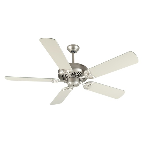 Craftmade Lighting Craftmade Lighting American Tradition Brushed Satin Nickel Ceiling Fan Without Light K10825
