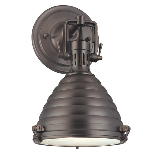 Hudson Valley Lighting Hudson Valley Lighting Naugatuck Historic Bronze Sconce 5108-HB
