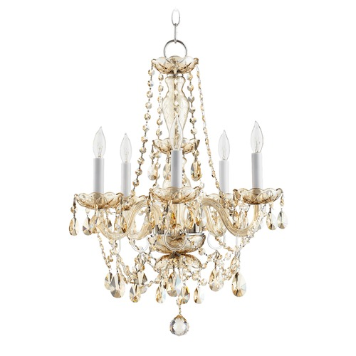Quorum Lighting Quorum Lighting Bohemian Katerina Chrome Mini-Chandelier 630-5-614
