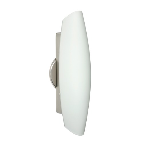 Besa Lighting Besa Lighting Aero Satin Nickel LED Sconce 272807-LED-SN