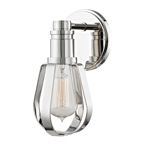 Hudson Valley Lighting Hudson Valley Lighting Red Hook Polished Nickel Sconce 1081-PN