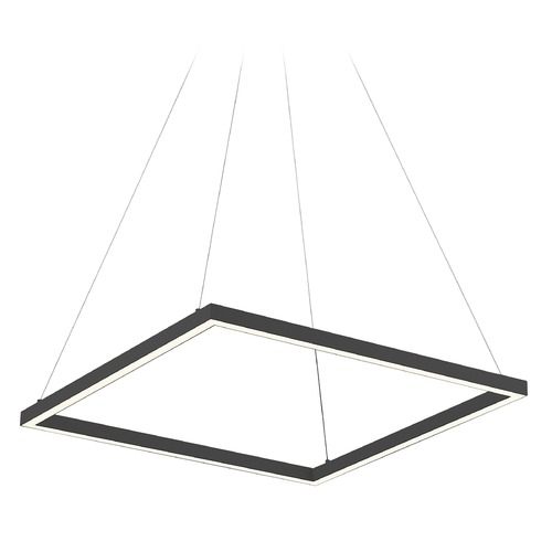 Kuzco Lighting Kuzco Lighting Piazza Black LED Pendant Light PD85124-BK