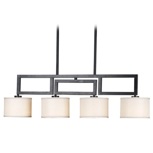 Kenroy Home Lighting Drum Island Lights in Oil Rubbed Bronze Finish 10064ORB