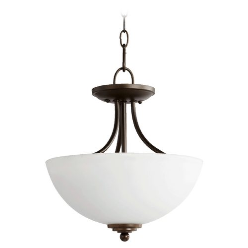 Quorum Lighting Quorum Lighting Brooks Oiled Bronze Pendant Light 2750-13-86