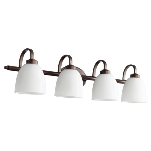Quorum Lighting Quorum Lighting Reyes Oiled Bronze Bathroom Light 5060-4-86