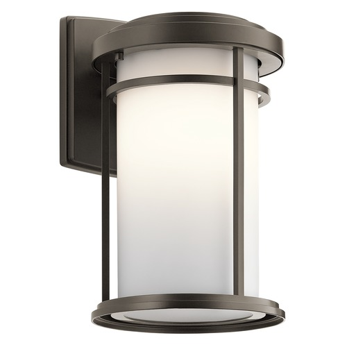 Kichler Lighting Kichler Lighting Toman Olde Bronze LED Outdoor Wall Light 49687OZL16