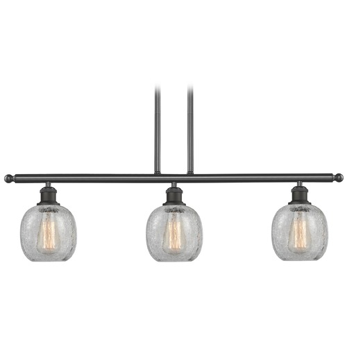 Innovations Lighting Innovations Lighting Belfast Oil Rubbed Bronze Island Light with Globe Shade 516-3I-OB-G105