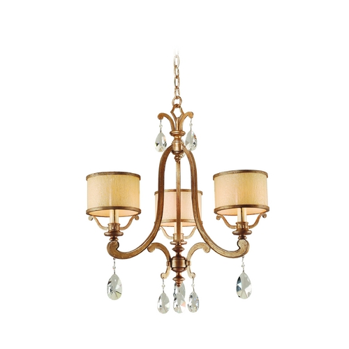 Corbett Lighting Corbett Lighting Roma Antique Roman Silver Chandelier 71-03