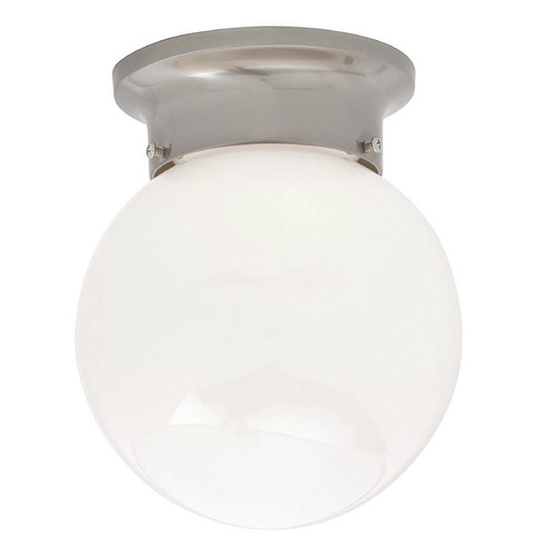 Design Classics Lighting 6-Inch Globe Ceiling Light 106 SN  (SA 60-245)