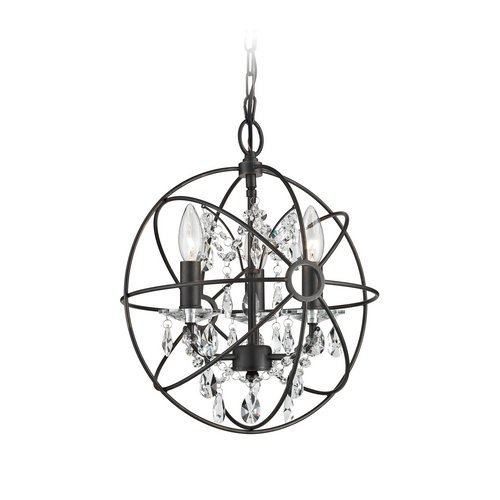 Sterling Lighting Mini-Chandelier in Bronze Finish 124-003