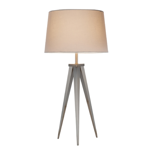 Adesso Home Lighting Adesso Home Lighting Producer Satin Steel Table Lamp 3263-22