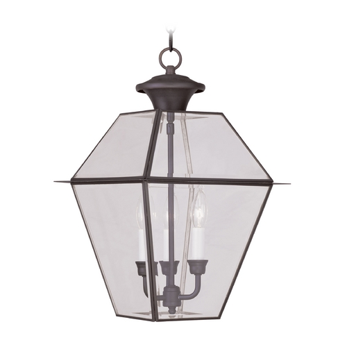 Livex Lighting Livex Lighting Westover Bronze Outdoor Hanging Light 2385-07