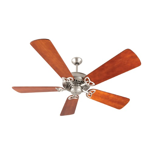 Craftmade Lighting Craftmade Lighting American Tradition Brushed Satin Nickel Ceiling Fan Without Light K10828