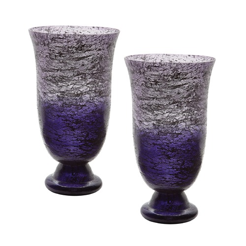 Dimond Home Plum Ombre Flared Vase - Set Of 2 876024/S2