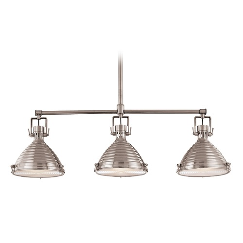 Hudson Valley Lighting Hudson Valley Lighting Naugatuck Historic Bronze Island Light with Conical Shade 5123-HB