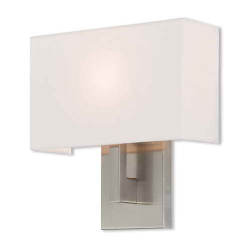 Livex Lighting Livex Lighting Hayworth Brushed Nickel Sconce 42412-91