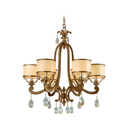 Corbett Lighting Corbett Lighting Roma Antique Roman Silver Chandelier 71-06