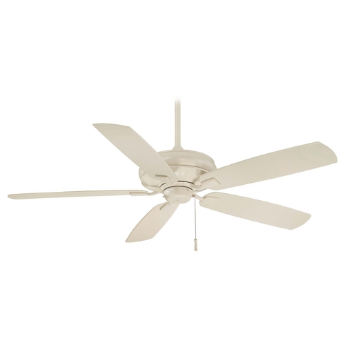 Minka Aire Ceiling Fan Without Light in Bone White Finish F532-BWH