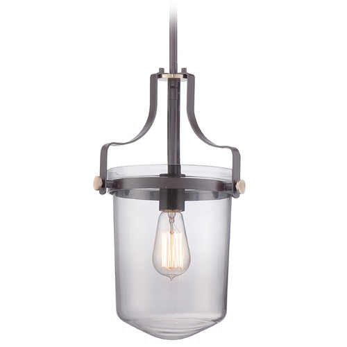Quoizel Lighting Quoizel Uptown Penn Station Western Bronze Mini-Pendant Light UPPS1510WT