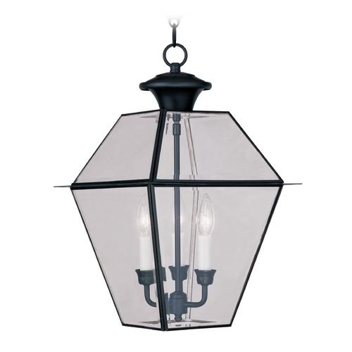 Livex Lighting Livex Lighting Westover Black Outdoor Hanging Light 2385-04