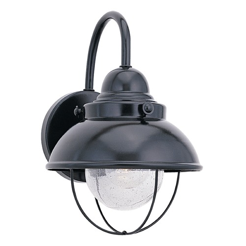 Sea Gull Lighting Sea Gull Lighting Sebring Black LED Outdoor Wall Light 887191S-12