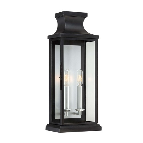 Savoy House Savoy House Black Outdoor Wall Light 5-5911-BK