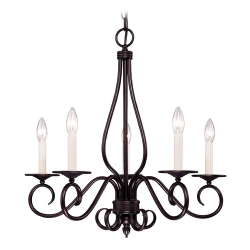 Savoy House Savoy House English Bronze Chandelier KP-95-5-13