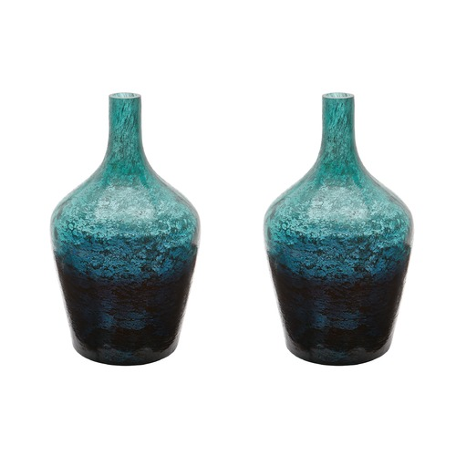 Dimond Lighting Emerald Ombre Bottle - Set Of 2 876025/S2