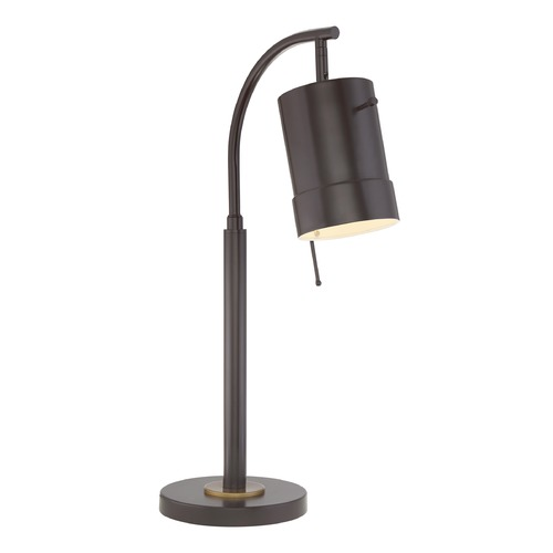 Quoizel Lighting Quoizel Lighting Quoizel Portable Lamp Western Bronze Table Lamp with Cylindrical Shade Q2126TWT