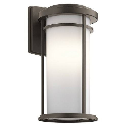 Kichler Lighting Kichler Lighting Toman Olde Bronze LED Outdoor Wall Light 49688OZL16