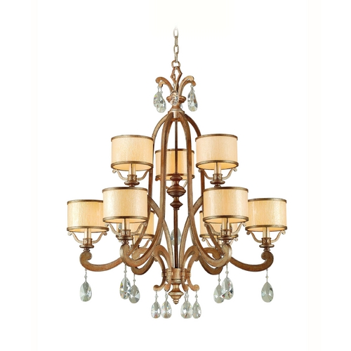 Corbett Lighting Corbett Lighting Roma Antique Roman Silver Chandelier 71-09