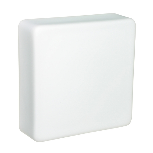 Besa Lighting Sconce Wall Light with White Glass 888307